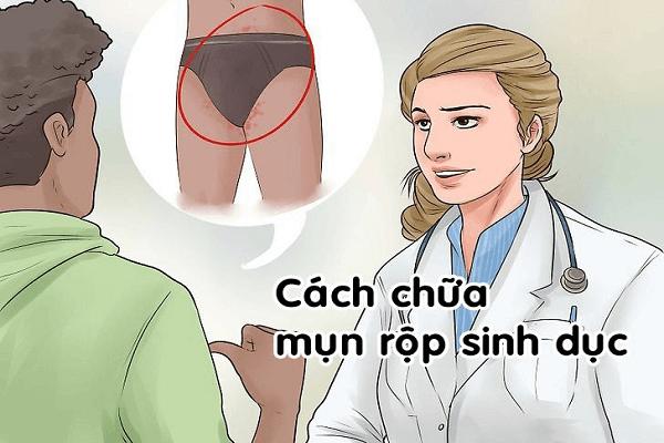 Cách chữa mụn rộp sinh dục nam