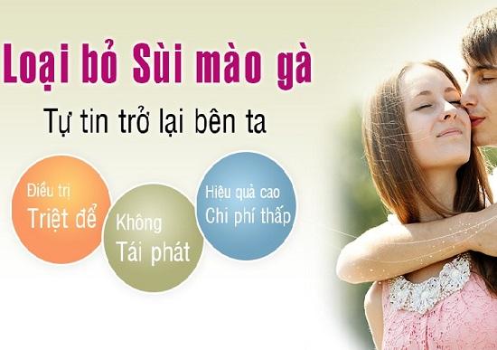 Bác sĩ điều trị sùi mào gà ở Bắc Ninh