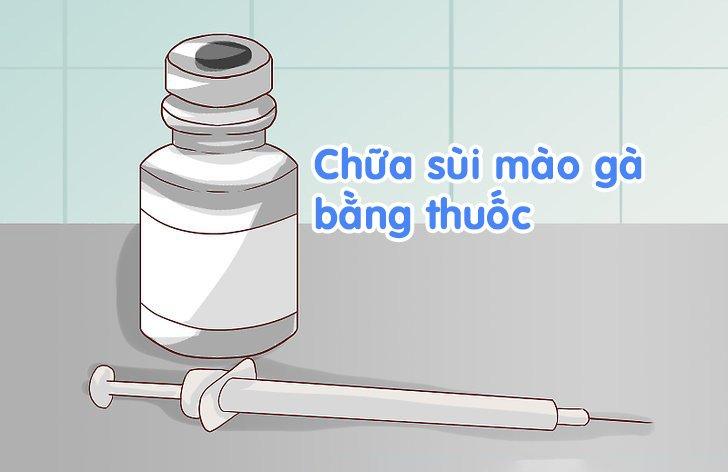 thuốc chữa sùi mào gà giai đoạn đầu hiệu quả nhất