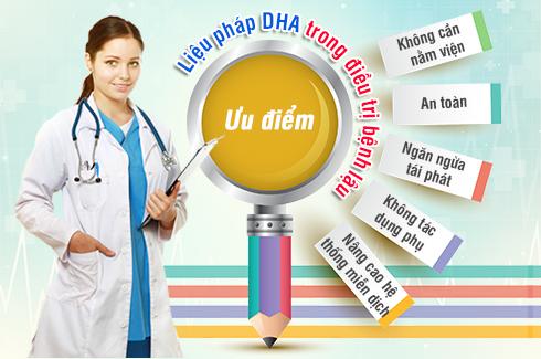 Chữa bệnh lậu mãn tính bằng DHA có khỏi không?