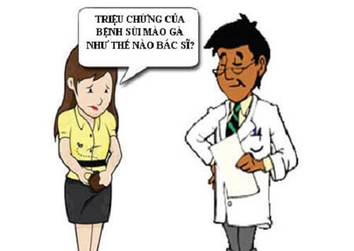 triệu chứng sùi mào gà ở nữ giới